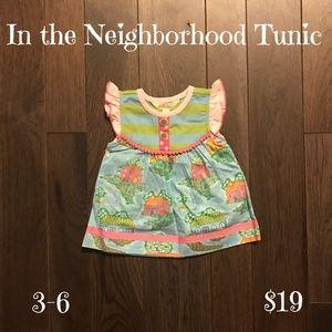 Matilda Jane Shirts & Tops - Matilda Jane Baby Tunic, Size 3-6 months, NWT